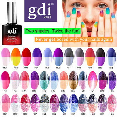 Gdi Nails - Colour Changing Thermal - Uv Led Soak Off Gel Nail Polish