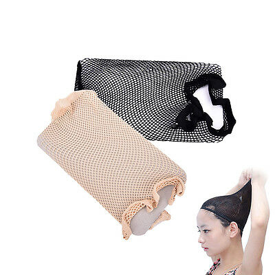 Useful New 1pcs Unisex Stocking Wig Liner Cap Snood Nylon Stretch Mesh 3C