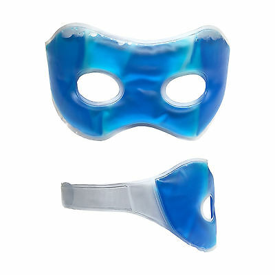 Blue Soothing Eye Mask Relaxing Gel Headache Relief Cold Cooling Gel Hot Warm