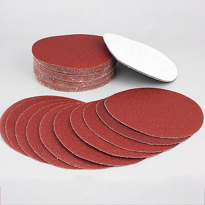 10PCS 4inch 100mm Sander Disc 320 Grit Sanding Polishing Pad Sandpaper Tool