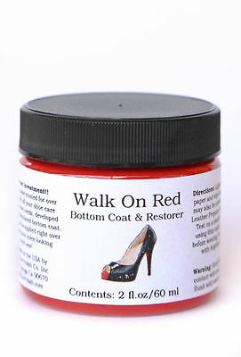 Angelus Walk On RED - Louboutin Shoes / Boot Sole/Edge Bottom Coat & Restorer