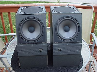 PR AR M2 Holographic Imaging Bookshelf Speakers tested work and sound great!!!