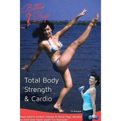 Bettie Page Fitness: Total Body Strength & Cardio DVD