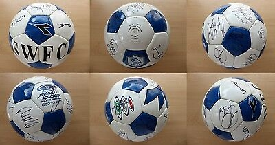 Sheffield Wednesday Official Football Signed by Squad (11215)