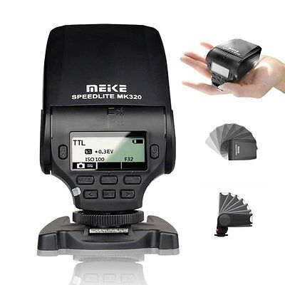 MEIKE MK-320 TTL flash Speedlite for Sony A7 A7R A7S A7RII A6300 A6000 A6500 A99