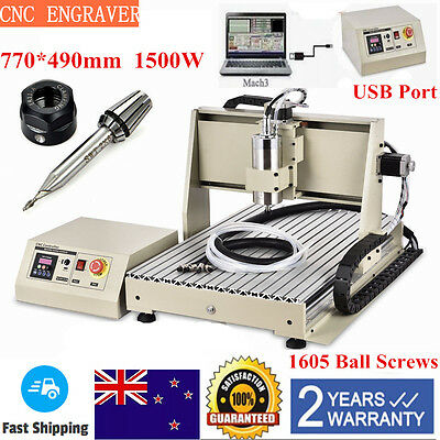 Usb Port Cnc 6040T 3 Axis Router Engraver Engraving 3D Cutter Machine Milling