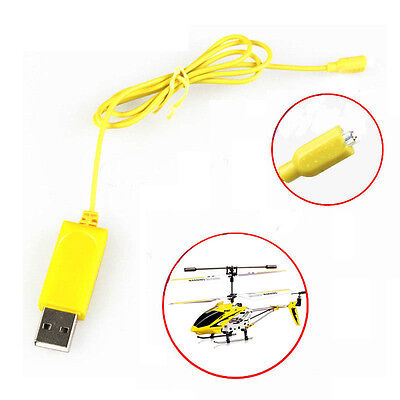 RC Helicopter Syma S107 S105 USB Mini Charger Cable Ladegerät Ladekabel Parts