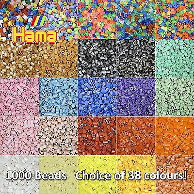 1000PCS Colorful Hama Perler Beads 5mm DIY Craft Educational Toy Kid Gift