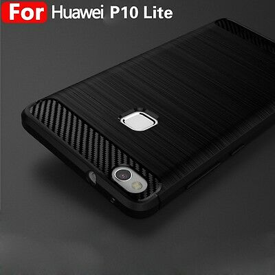 For Huawei P10 Lite P10 Plus Shockproof Silicone Hybrid Case Soft Bumper TPU