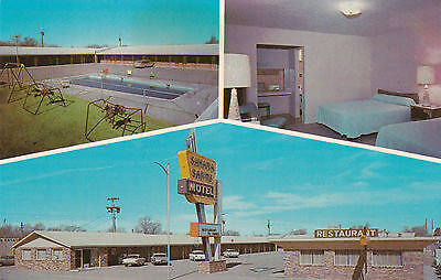 TUCUMCARI , New Mexico, 50-60s ; Sahara Sands Motel, Route 66