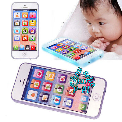 Mobile Phone Toy Educational Toys Learning For Kids Baby Child Y-Phone iPhone W