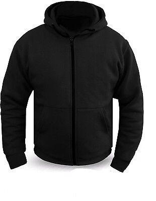 Motorcycle Hoodie Full Kevlar Armored Lined Soft shell Ultimate Protection Hoody
