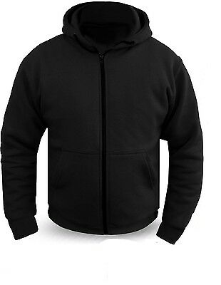 New Motorcycle Kevlar Full Protective Armour Lined Soft shell water proof Hoodie