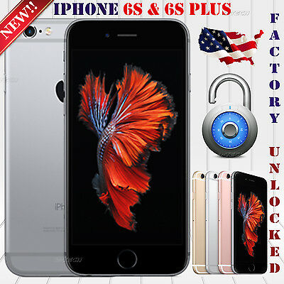 Apple Iphone 6S & 6S Plus (32 / 64 / 128 GB)  GSM & CDMA UNLOCKED PHONE LTE OEM