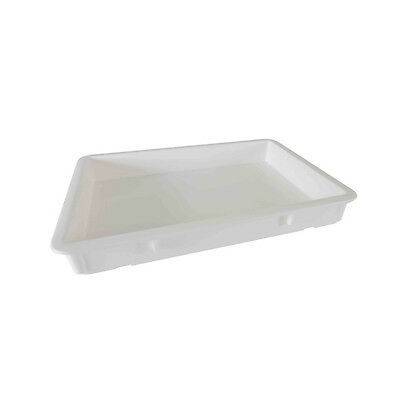 Thunder Group PLDB182603PP, 18x26x3-Inch Pizza Dough Box, Polypropylene, White