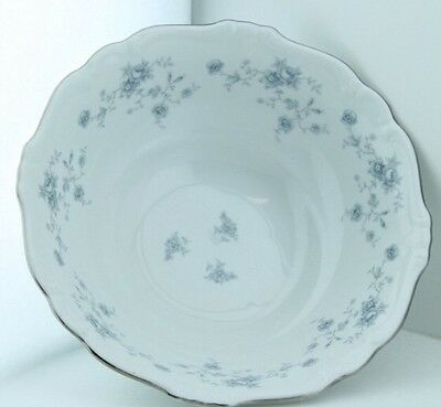 Johann Haviland Bavaria Germany Blue Garland Vegetable Serving Bowl 8 1/2""