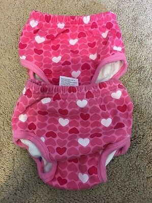 One Step Ahead The Smarter Potty Training Pants Size 2T Pink Hearts