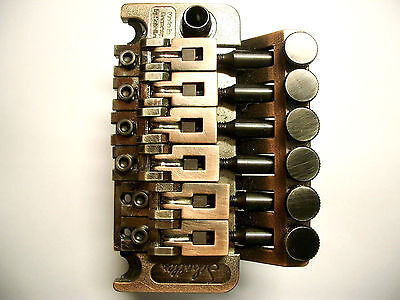Schaller Double Locking Tremolo Vintage Copper, R2, 42mm Block