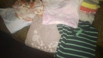 Women's Tops, 24 Total In Various Colors And Styles. Very Good Condition