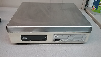 National Controls Inc NCI POS Scale Model 3820 Tested Working