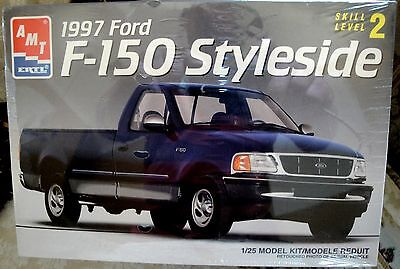 AMT ERTL, 1997 FORD F-150 Styleside Pick Up Truck Blue # 6803
