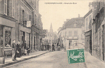 CHENERAILLES grande rue tabac timbrée