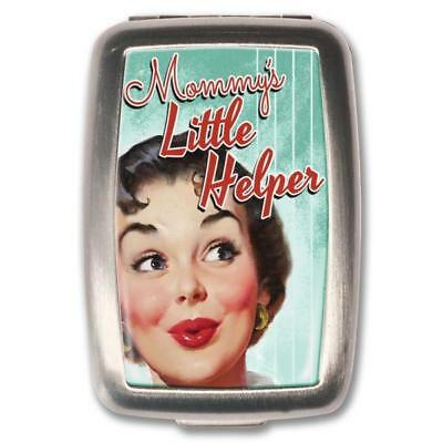 NEW Retro- A- Gogo Mommy's Little Helper Pill Box Pill Boxes