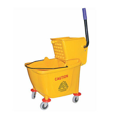 Update International Mop Bucket with Wringer, 36 Quart