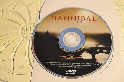 Hannibal (DVD, 2001, 1-Disc, Special Edition)Disc Only Free Shipping 7-134