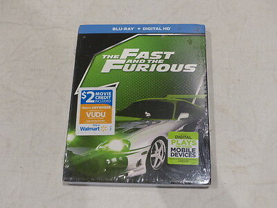 The Fast And The Furious Blu-Ray+Digital Hd New/sealed