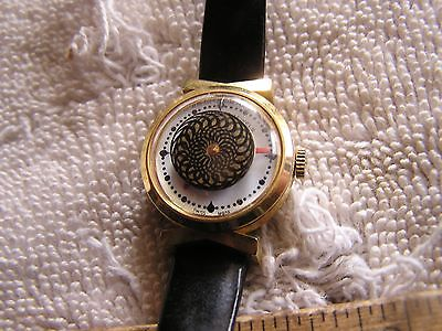 Vintage Royama 17 Jewels Women's Cocktail Watch Great Dial