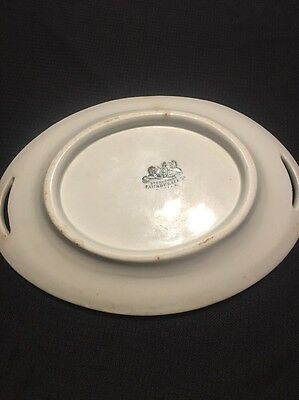 Pankhurst & Co China Antique Plate With Handles