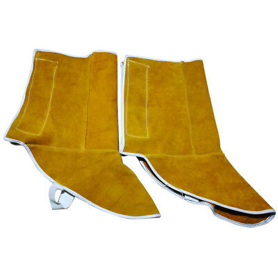 1 Pair Welding Protective Shoes Feet Cover Fire Flame Resistant for Welder