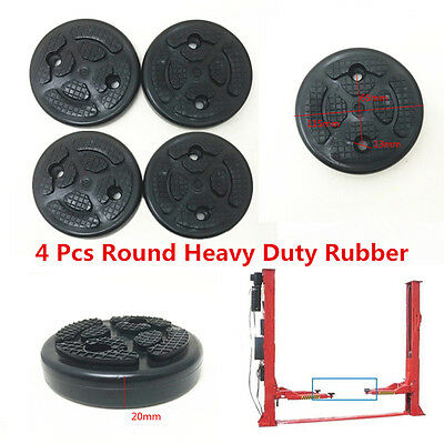 4PC High Quality Wearable Rubber Arm  Lift Pad For Auto Lift Car Truck Hoist