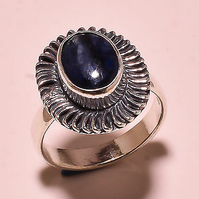 Kyanite Vintage Style 925 Solid Sterling Silver Ring Size 9 Us