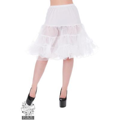 NEW Hearts and Roses Petticoat In White Petticoats