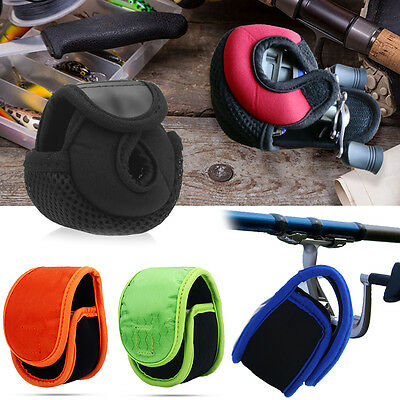 Premium Baitcasting Reel Pouch Fishing Bait Cast Reel Bag Spinning Wheel Cover
