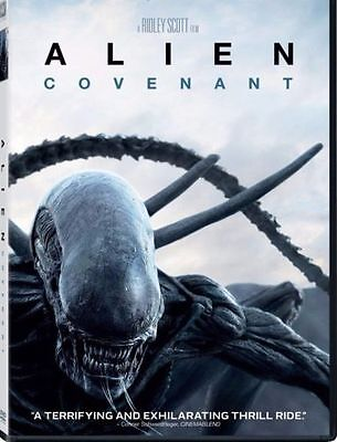 Alien: Covenant (DVD 2017) NEW*Horror, Thriller* PRE-ORDER SHIPS ON 08/15/17