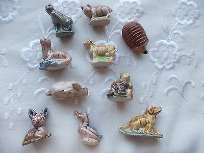 Wade Whimsies Collection -Job Lot Of 10 Figures All Very Good Condition