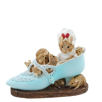 Old Woman Who Lived in a Shoe Miniature Figurine NEW