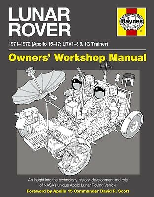 Haynes Lunar Rover Manual Hardback Book New Hay5267