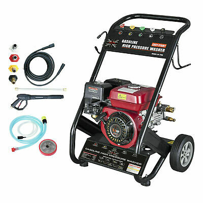 D Pro T Heavy Duty 240 BAR 3500PSI 7HP Petrol Driven Pressure Power Jet Washer
