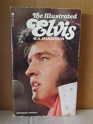 THE ILLUSTRATED ELVIS Paperback Book (1977)