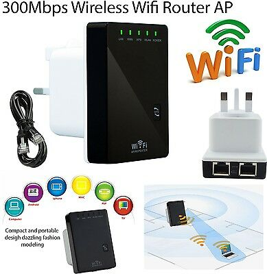 300 Mbps Wireless Wifi Router AP Repeater Extender Booster SKY WPS BT07