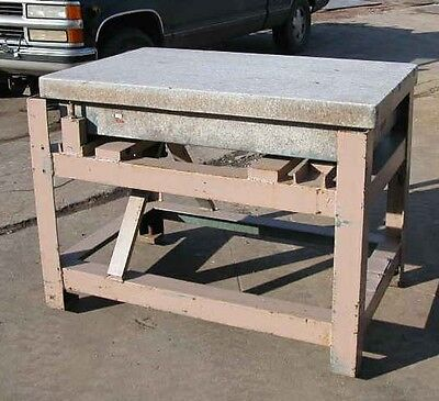 Granite Table on Stand 30 X 48 X 9 inch (Inv.15120)