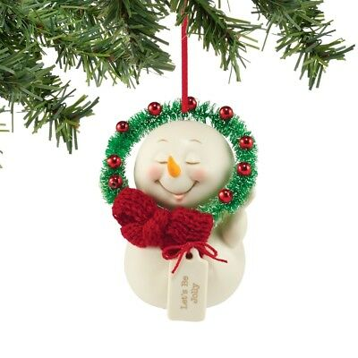 Department 56 Snowpinions Let's Be Jolly Ornament $50=FreeShipUS