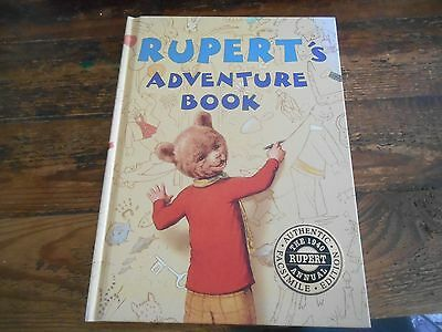 RUPERTS Adventure Book, the 1940 Rupert Annual, Authentic Facsimile Edition