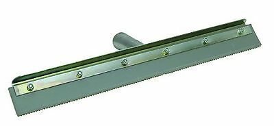 """Marshalltown 16842 24"""" Straight Notched Squeegee Complete w/Frame w/3/16"""" Notch"""