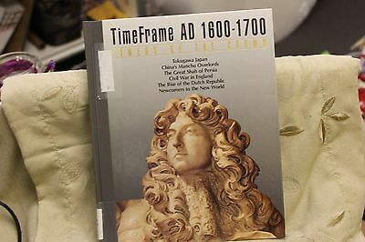 Time Frame AD 1600-1700: Powers of the Crown HC Time Life Books PREOWNED IN GC