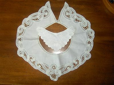 Vintage Embroidery Collars Lace Linen (2)